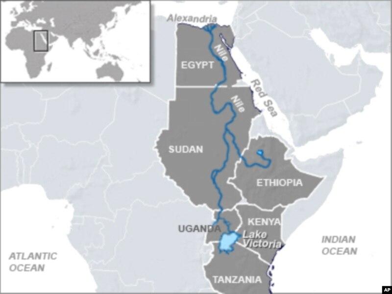 Egypt The Land Of Wonder Nile River Nile River Great Pyramids - Nile river map world atlas