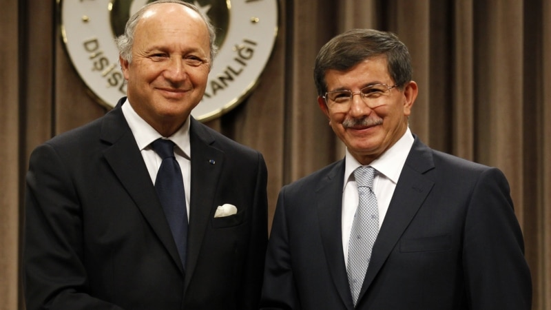 French, Turkish Foreign Ministers Discuss Syria