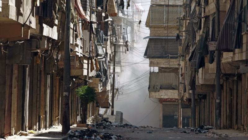 Battles Show No Letup in Syria's Aleppo