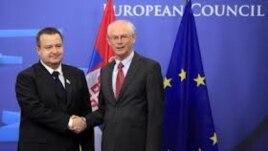 Rompuy: Kosova – kushti kryesor për Serbinë në BE