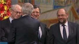 Mbahet ceremonia e dhënies së Çmimit Nobel të Paqes për BE