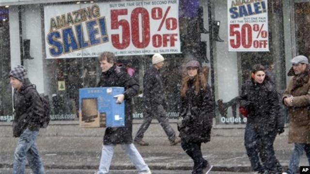 Предрождественские продажи в США не оправдали надежд ритейлеров