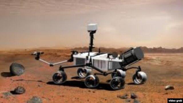"""Sonda """"Curiosity"""" analizon gurë dhe dheun e Marsit"""