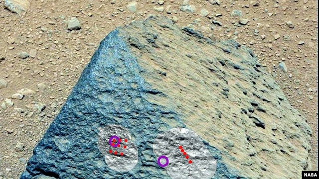 Unusual Mars Rock Surprises Rover Scientists