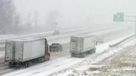 Stuhi e fuqishme dëbore në SHBA