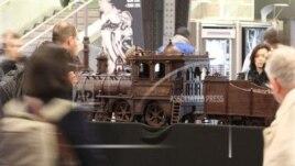 Në Belgjikë, tren prej çokollate
