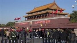 Takim me dyer të mbyllura në Pekin