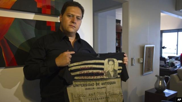 Hijo de Pablo Escobar lanza línea de ropa