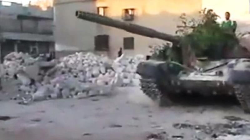 International Alarm Rising Over Besieged City